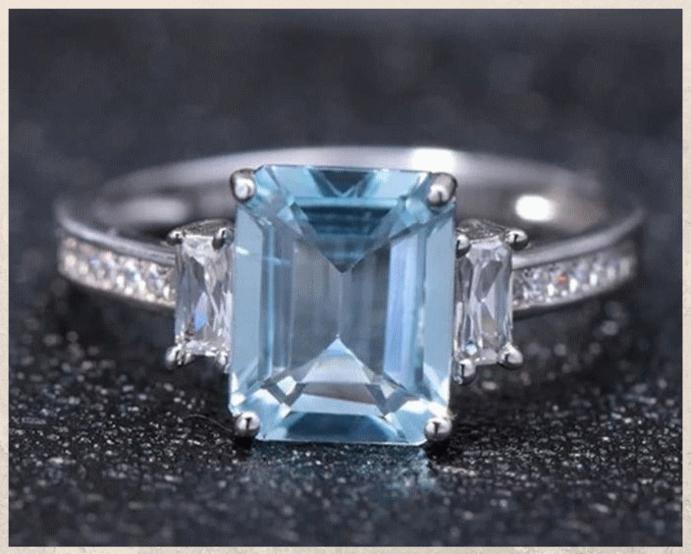 Топаз Скай Блю: небесно-голубой камень. Свойства камня
