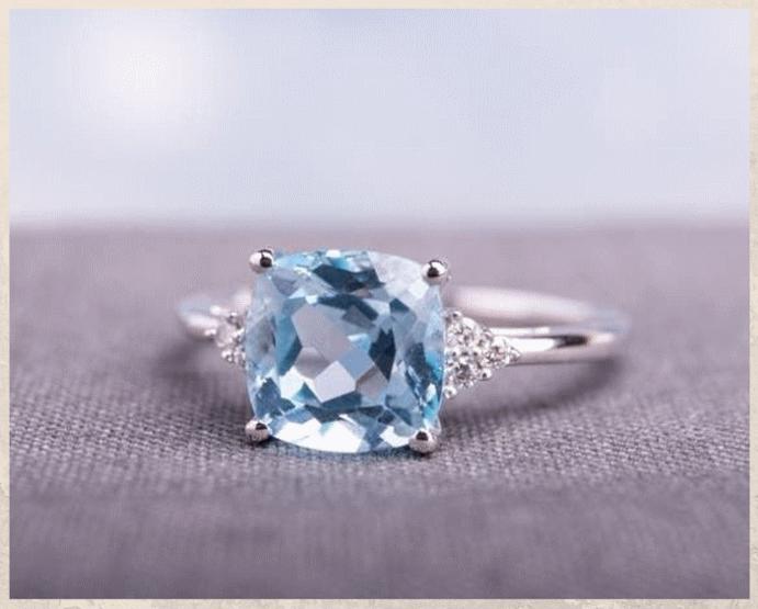 Топаз Скай Блю: небесно-голубой камень. Стоимость