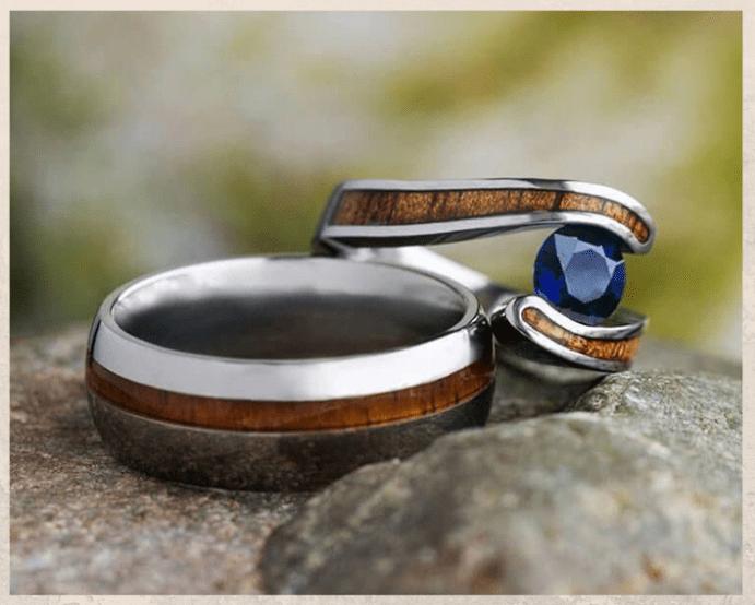 Титановые обручальные кольца. Преимущества и недостатки