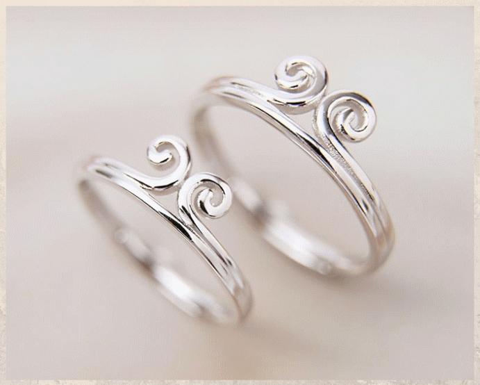 Серебряные обручальные кольца: почему спрос на них растет. Родированное серебро