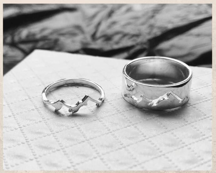 Серебряные обручальные кольца: почему спрос на них растет. Парные обручальные кольца