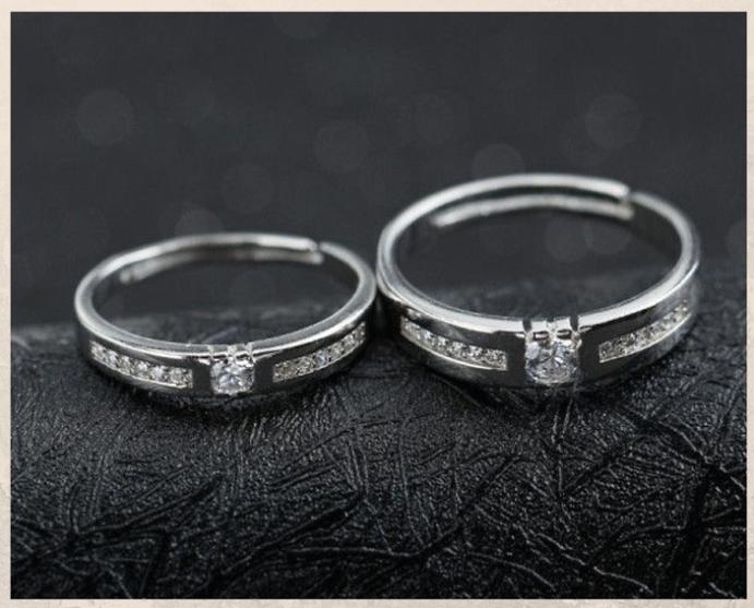 Серебряные обручальные кольца: почему спрос на них растет. Бриллианты в серебре