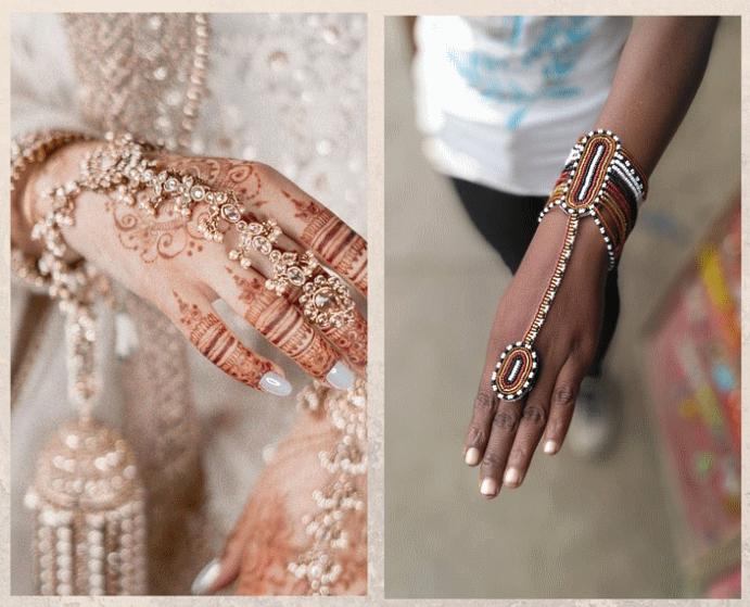 Слейв-браслет: украшение со сложным смыслом. Индийские браслеты