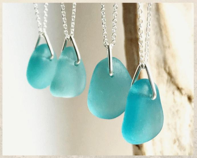 Морское стекло: ювелирный материал, обласканный волнами. Цвета и формы