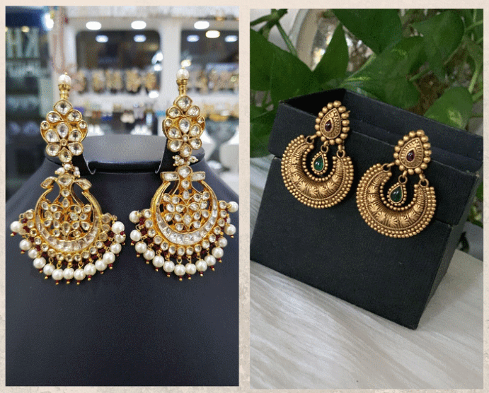 Серьги Чанд Бали: модный тренд из Болливуда. Как носить