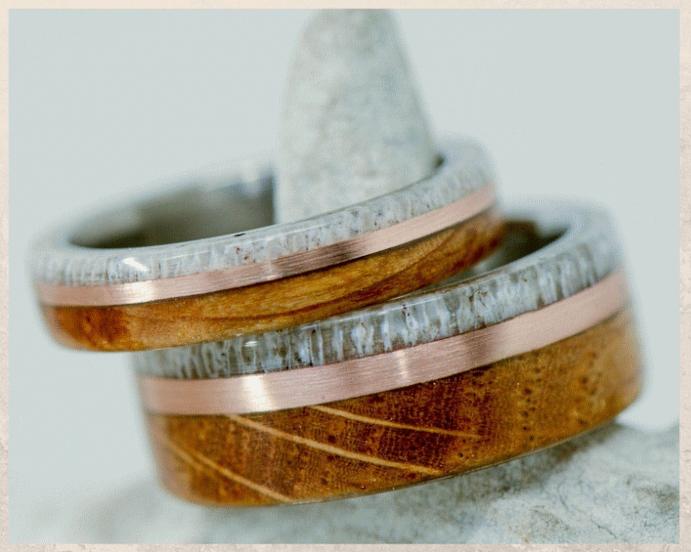 Кольца из дубовой бочки: хороший вкус и забота об экологии. Материалы