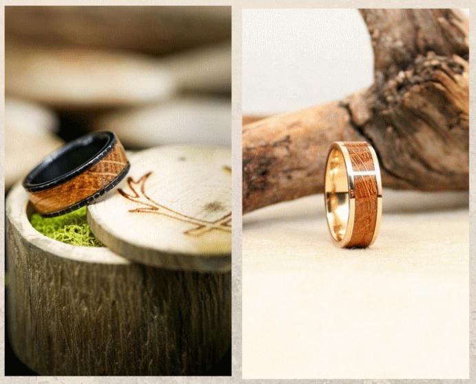 Кольца из дубовой бочки: хороший вкус и забота об экологии. Особенности ухода