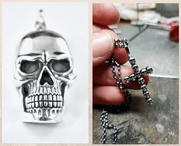 Подвеска Череп: символ смерти и бессмертия. Символическое значение