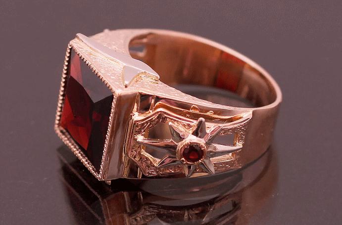Перстень Роза ветров: для моряков и путешественников