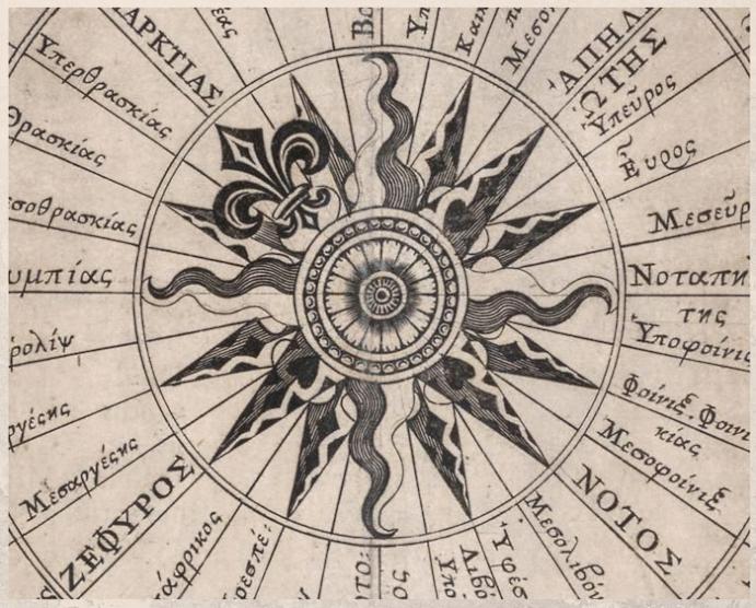 Перстень Роза ветров: для моряков и путешественников. Символическое значение