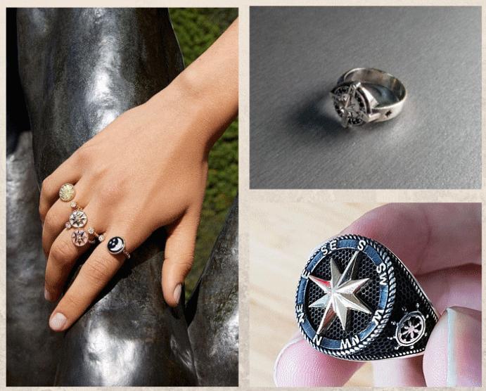 Перстень Роза ветров: для моряков и путешественников. История популярности