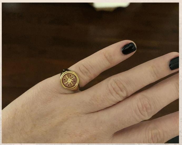 Перстень Роза ветров: для моряков и путешественников. Как носить