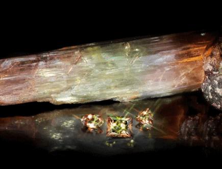 Султанит: двухцветный камень султана