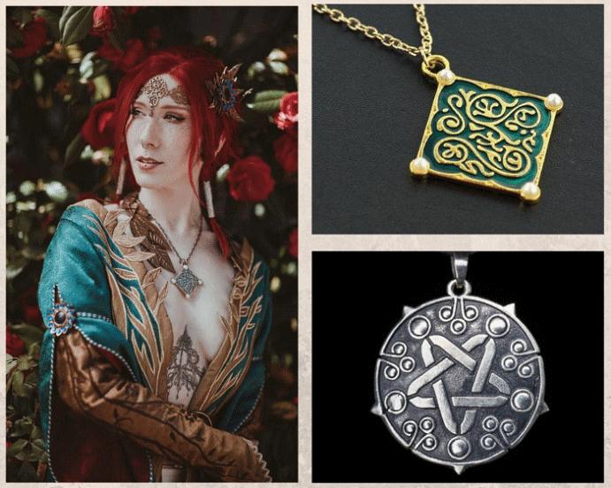 Ведьмак: ювелирные украшения с характером. Материалы