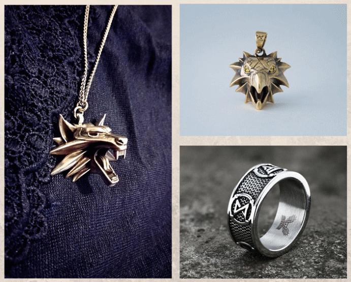 Ведьмак: ювелирные украшения с характером. Как носить