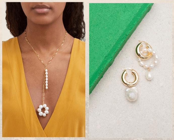 Модные ювелирные украшения: что носить осенью 2021 года. Жемчуг