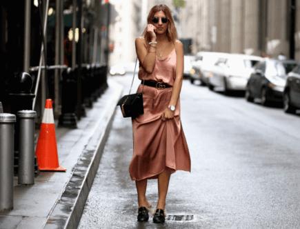 Какие украшения носить с платьем-комбинацией