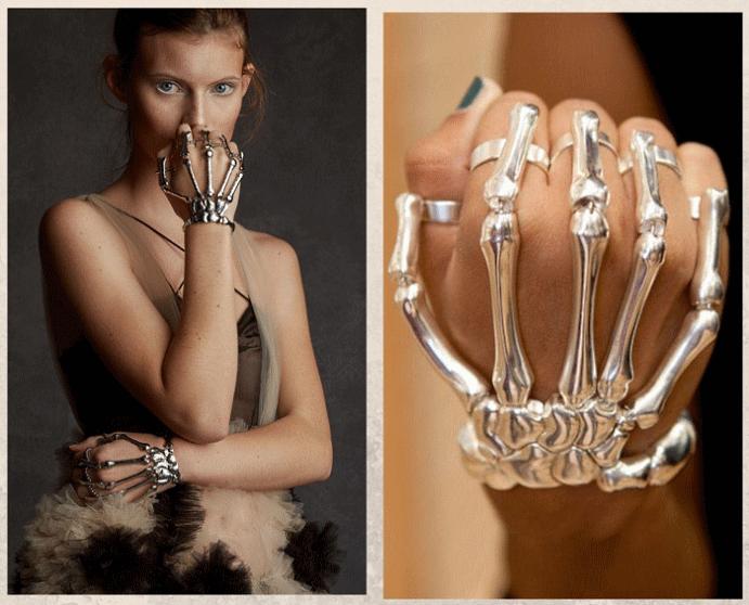 Браслет «Скелет руки»: самый необычный тренд 2021 года. Почему это модно