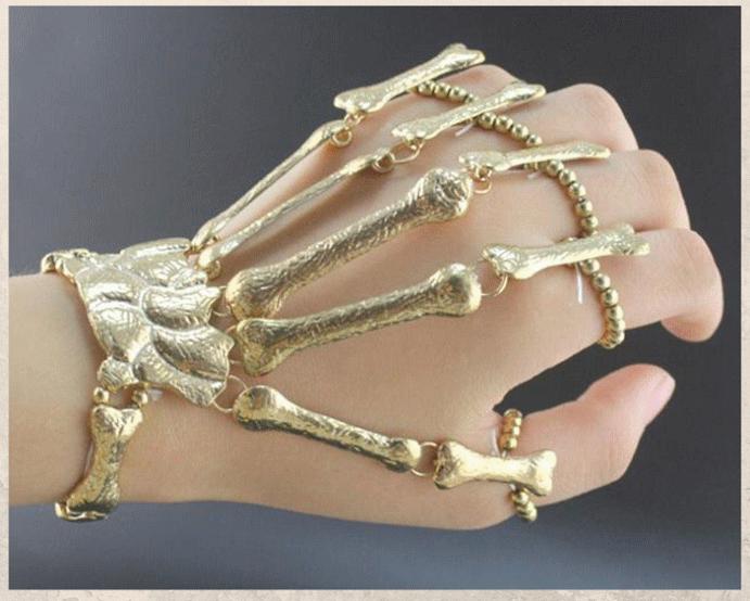 Браслет «Скелет руки»: самый необычный тренд 2021 года. Материалы
