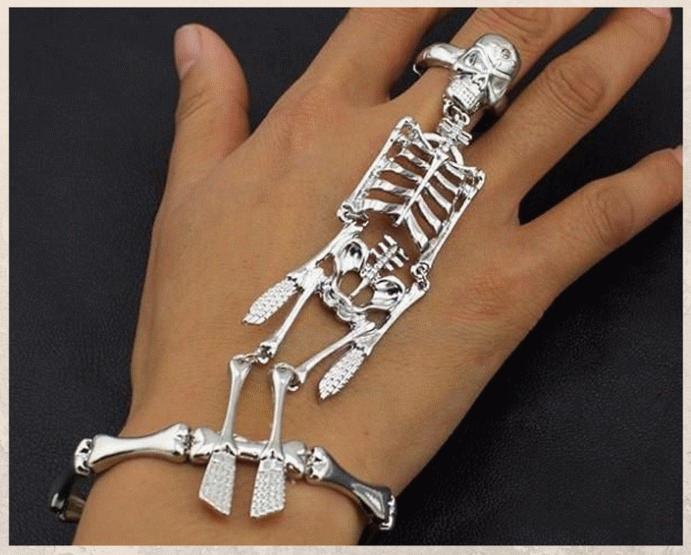 Браслет «Скелет руки»: самый необычный тренд 2021 года. Другие виды украшений