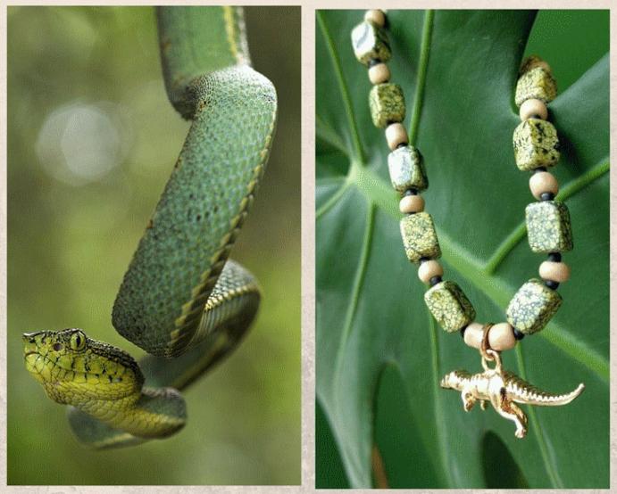 Серпентин: камень с текстурой змеиной кожи. Серпентин в истории
