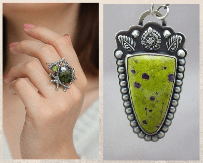 Серпентин: камень с текстурой змеиной кожи. Цены