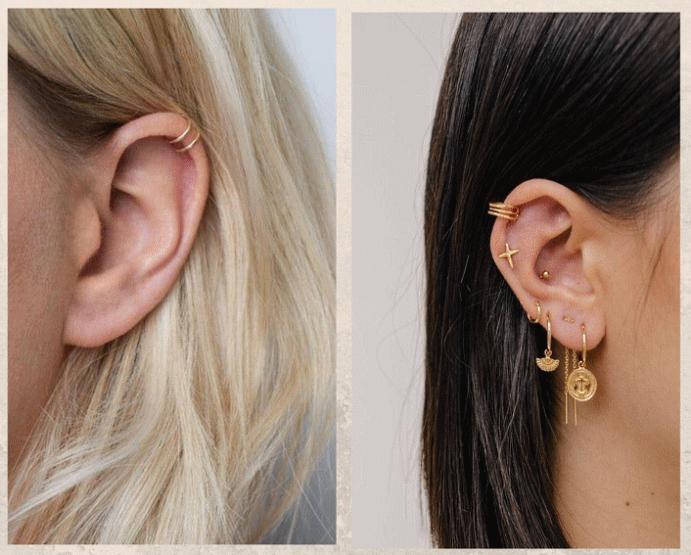 Хеликс: второй по популярности пирсинг уха. Прокол: больно или нет