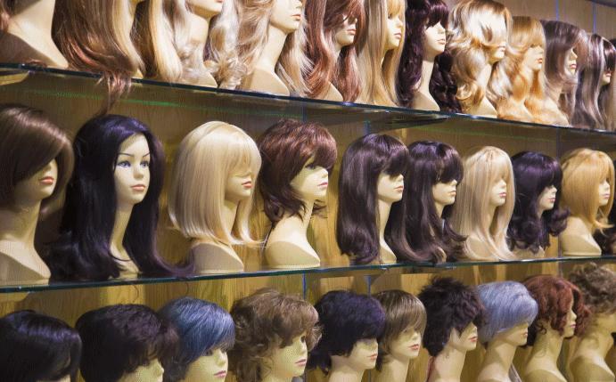 Как выбрать парик на сетке