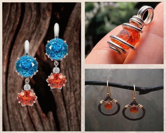 Спессартин: драгоценный камень мандаринового цвета. Имитации и подделки