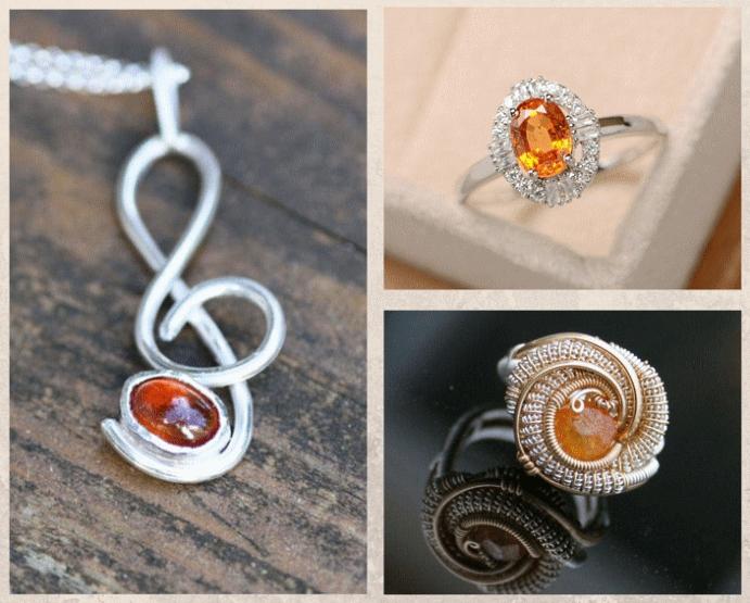 Спессартин: драгоценный камень мандаринового цвета. Как ухаживать за камнем