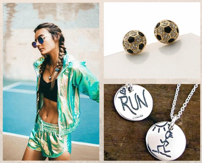 Украшения в спортивном стиле: как выбрать и носить правильно. Как сочетать украшения и спорт