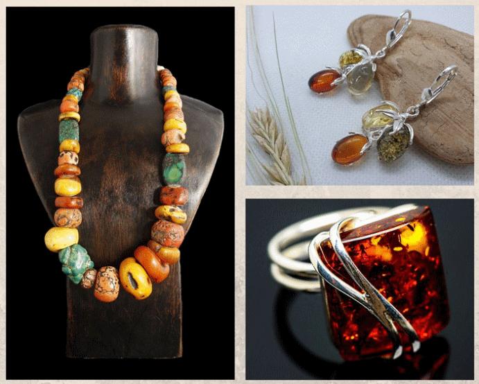 Как ухаживать за янтарными украшениями. Что делать нельзя