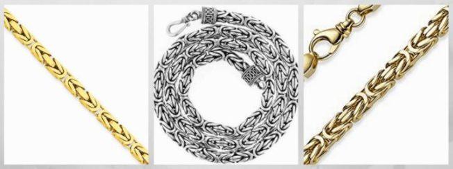 плетение Лисий хвост цепи браслеты
